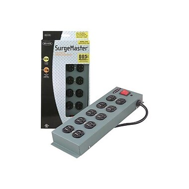 Belkin® SurgeMaster F9D1000-15 10 Outlets 885 Joules Surge Suppressor With 15' Cord