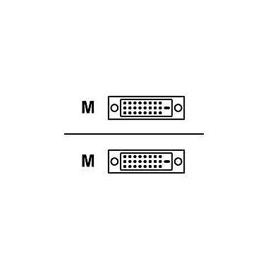 Belkin F2E4141B06-DD 6' DVI-D Video Cable, White/Black