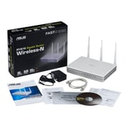 Asus RT-N16 Wireless-N 300 Gigabit Router, 2.4GHz + 2.5GHz