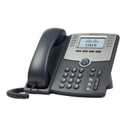 Cisco SPA508G 8-Line Corded VOIP Telephone, Black/Gray