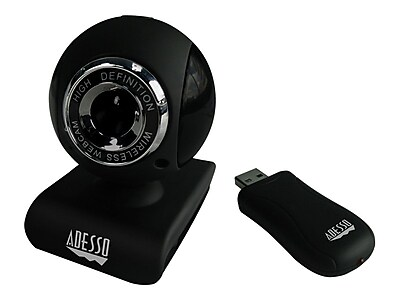 Adesso® Cybertrack V10 Wireless Webcam For USB Receiver, 640 x 480, 1.3 MP