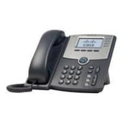 Cisco SPA514G 4-Line Corded VOIP Telephone, Black/Gray