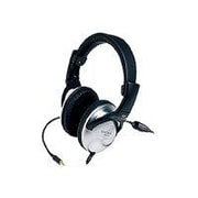 Koss UR29 Over-Ear Mix Jockey Headphone with In-Line Mic, Silver