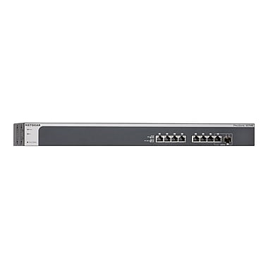 NETGEAR – Commutateur Ethernet Plus 10 Gigabit Prosafe Plus Xs708E-100Nes, 8 ports