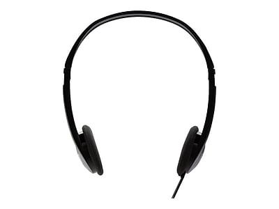 V7 HA300-2NP Over-Ear Stereo Headphone, Black