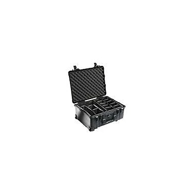 Pelican™ 1560 Hard Case With Padded Divider, Black