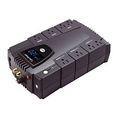 CyberPower CP825AVRLCD 825VA 450W Battery Backup & Surge Protection with 8 Outlets & LCD Screen