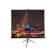 "Elite Screens™ TriPod Series 120"" Portable Projector Screen, 16:9, Black Casing"