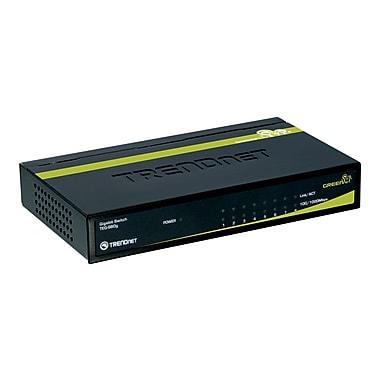 TRENDNET® TEG-S80G Gigabit GREENnet Switch, 8 Ports