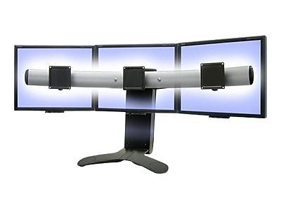 Ergotron 33-296-195 LX Triple Display Lift Stand for 21