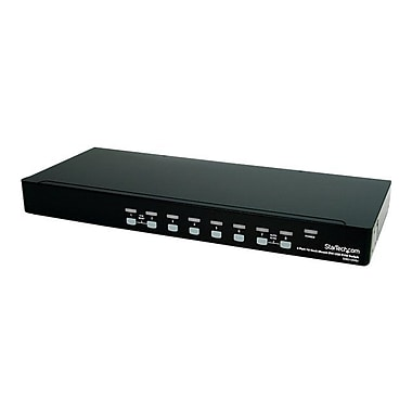StarTech 8 Port DVI/USB 1U Rackmount KVM Switch