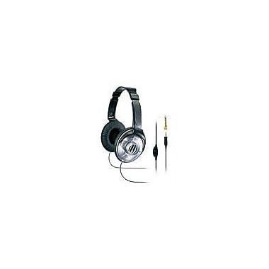 JVC HAV570 Over-Ear DJ Headphone with Volume Control, Black