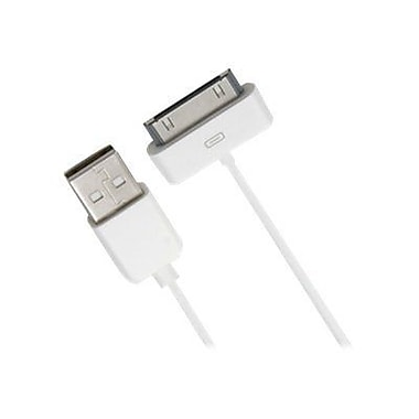 Accell® USB to Dock Connector Sync and Charge Cable For iPod, iPhone, iPad