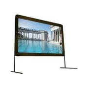 "Elite Screens® Yard Master Series 120"" Portable Projection Screen, 16:9, Black Casing"