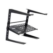 Pyle® Laptop Computer Stand With Storage Shelf For DJ