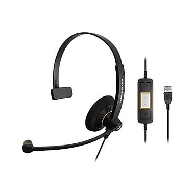 Sennheiser SC 30 USB ML 504546 Wired Headset, Black