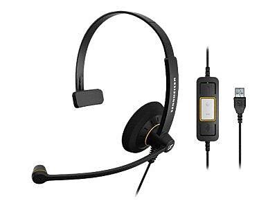 Sennheiser SC 30 USB ML 504546 Wired Headset, Black