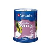 Verbatim 95145 4.7 GB DVD+R Spindle, 100/Pack