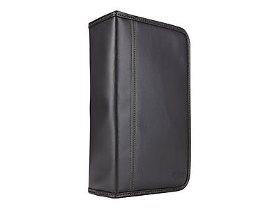 Case Logic® Koskin 92 CD Wallet, Black, Each