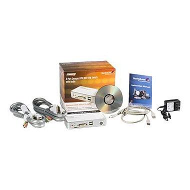 StarTech SV211KDVI USB DVI KVM Switch Kit, 2 Ports