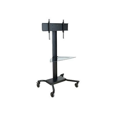 Peerless®-Av® Smartamount® Sr560M Tv Cart With Shelf, Up To 150 Lbs.