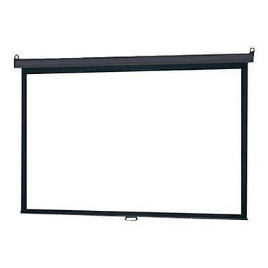 Infocus Manual Pull Down 84inch Projector Screen, 16:9, Black Casing
