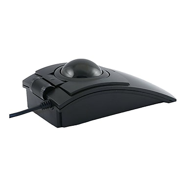CST L-Trac Laser Trackball Mouse with Scroll Wheel, Black