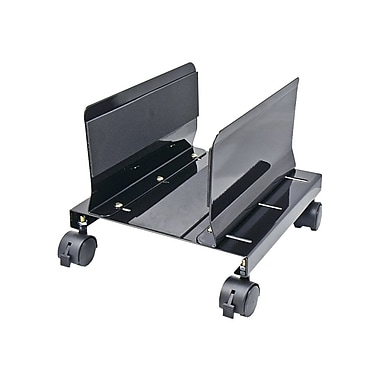 SYBA Multimedia Heavy Duty CPU Stand/Roller With Castors, Black
