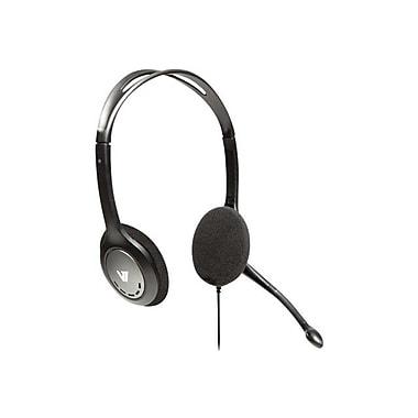 V7® HA201-2NP Black Stereo Headset