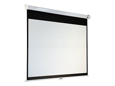 Elite Screens Manual SRM Pro Pull Down Projector Screen, 100