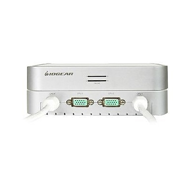 Iogear® GCS634U USB KVM Switch With Audio and Cable, 4 Ports