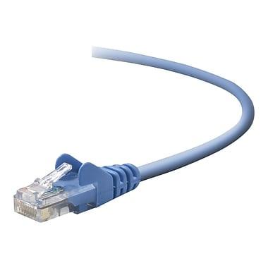 Belkin A3L791-08-BLU-S 8' CAT-5e RJ-45 Network Cable, Blue