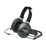 Koss QZ5 Stereo/Mono Passive Noise Reduction On Ear Headphone, Black by