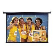 "Elite Screens® VMAX2 Series 99"" Electric Projection Screen, 1:1, Black Casing"