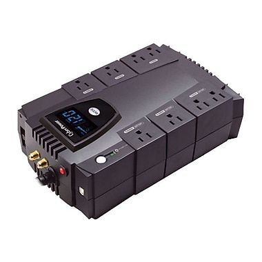 CyberPower CP685AVRLCD 685VA 390W UPS Battery Backup & Surge Protection with 8 Outlets & LCD Display
