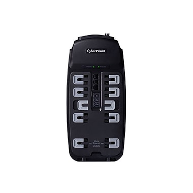 CyberPower Csp1008T 10-Outlet 2850 Joule Professional Surge Protector With 8' Cord