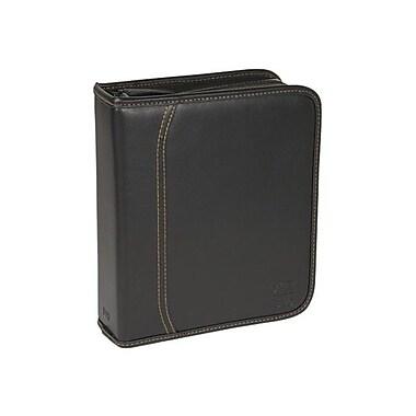 Case Logic® Koskin 40 DVD Album, Black, Each