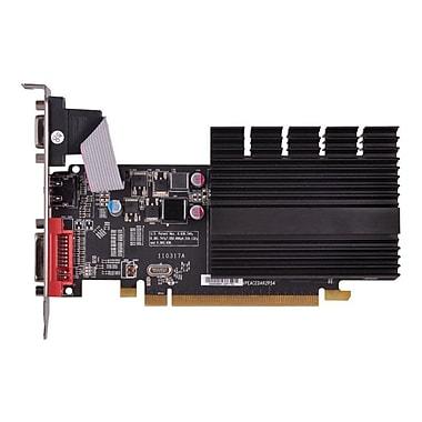 XFX® HD545XZQH2 Radeon HD 5450 GPU Graphic Card With ATI Chipset, 1 GB DDR3 SDRAM