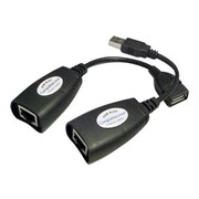 Comprehensive 150' USB 2.0 Female to Male USB Extender, Black