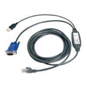 Avocent® AutoView™ USBIAC-7 Integrated Access Cable, 7'