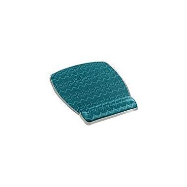 3M™ MW308 Fun Design Rubber Base Mouse Pad For Keyboard, Chevron Green