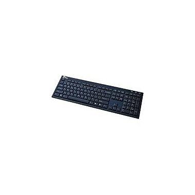 Siig® JK-US0412-S1 Aluminum USB Premium Keyboard With Hub