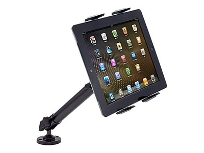 """""Arkon Heavy-Duty Universal Tablet Mount with 10"""""""" Drill / Screw Base, Black"""""" IM1KV6765"