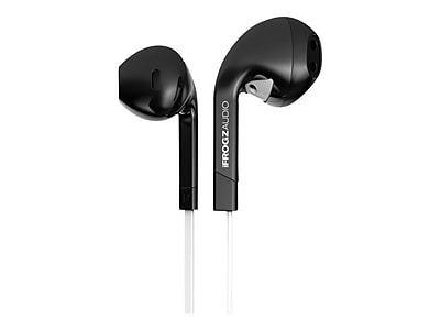 iFrogz IF-ITN-BLK InTone Earphone with Mic, Black
