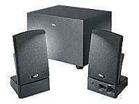 Cyber Acoustics CA-3001WB Amplified Speaker System, Black