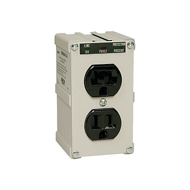 Tripp Lite Isobar® Series 2-Outlet 1410 Joule Surge Suppressor