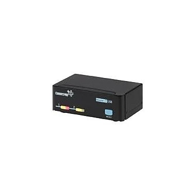 ConnectPro™ UR-12+KIT USB KVM Switch With Cable, 2 Ports