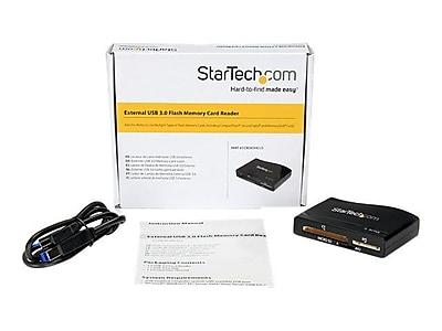 StarTech FCREADHCU3 USB 3.0 Multimedia Flash Memory Card Reader