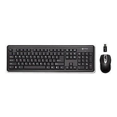 Buslink® i-Rocks RF-6572A Wireless Keyboard and Optical Mouse