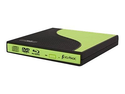 I/O Magic IBC1PE2G External Blu-ray Writer, Green/Black IM1TB7730